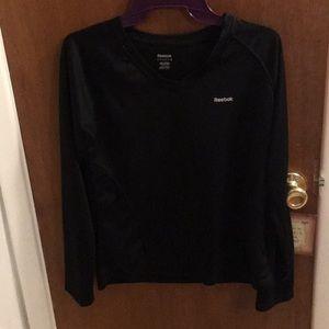 Basic black Reebok long sleeve shirt